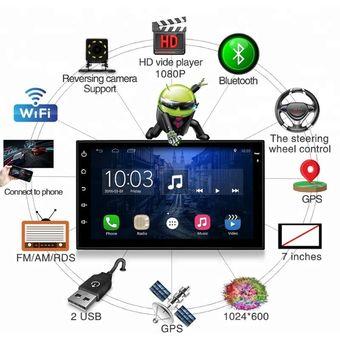 Compra Radio Android 7 1 Gps Wifi Camara De Reversa Tv Gratis Video