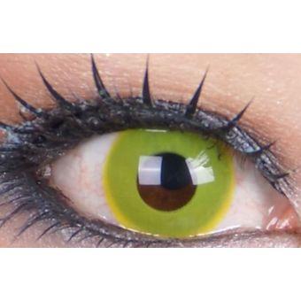 9f04f922bacec Lentes de Contacto Zombie Pupilentes Disfraz Halloween - Amarillos