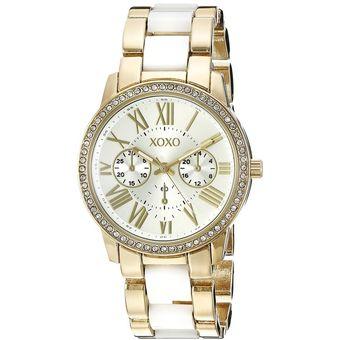 Compra Xoxo - Reloj Analógico Mujer XO5875 - Dorado Blanco online ... b60fc64d77c8