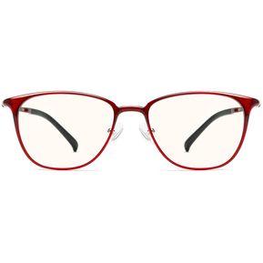 d552b1cf24c60 Xiaomi Mijia TS Lentes Anti-azul Gafas Anti-fatiga Ojo Protector - Rojo