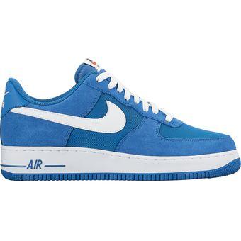 watch 29468 52abf Agotado Zapatos Casuales Hombre Nike Air Force 1 07-Azul