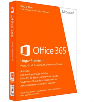 02d843198 Compra Microsoft Office 365 Hogar Premium (5 PC O Mac) 1 AÑO online ...