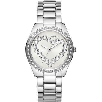 Compra Reloj GUESS Love Affair W1061L1 Plateado Para Mujer online ... 876794b83379