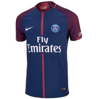 Compra Camiseta Hombre Nike PSG Home Stadium 2018-Azul online ... 9c59756ab8fba