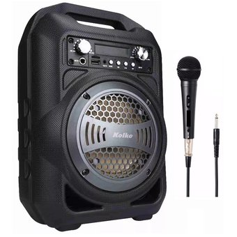 Parlante Kolke Kpm-191 Con Bluetooth Y Puerto Usb-Negro