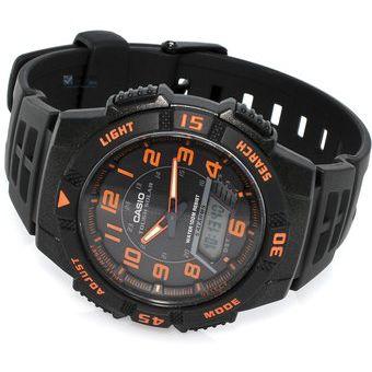 Solar Solar Naranja Reloj Aqs800 Naranja Reloj Casio Aqs800 Casio 4ARjL5