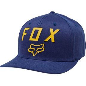 cacb8ab9b5bd2 Gorro Fox Number 2 Flexfit Azul Marino