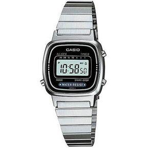 20fdeb1a45ff Reloj Casio Mujer Plata LA670WD-1DF