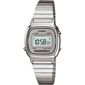 0c49f5d18a76 Reloj Casio Dama LA-670WA-7D LA670 Vintage -Plata