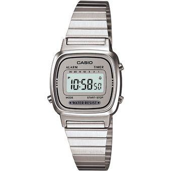 5ff99832e3ed Compra Reloj Casio Dama LA-670WA-7D LA670 Vintage -Plata online ...