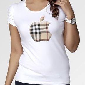 Camiseta Apple Tata Boutique -Apple- Blanco d70dbe8a4da0