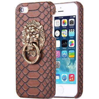 0ad14798e99 Para IPhone Se Y 5S Y 5 PC Funda Protectora Piel Textura De Pasta De Piel