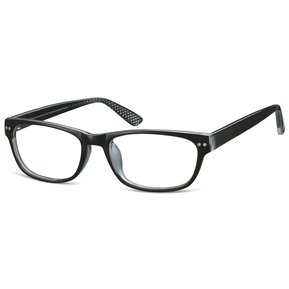 919e3c446b Monturas Oftálmicas Para Lentes Opticos Formulados - Gafas Marco - CP165 -  Negro / Transparente