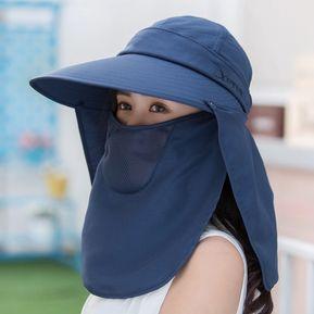 b8ad20baa90b0 Sombrero De Protección Solar Rostro Protección Solar Sombrero De Sol