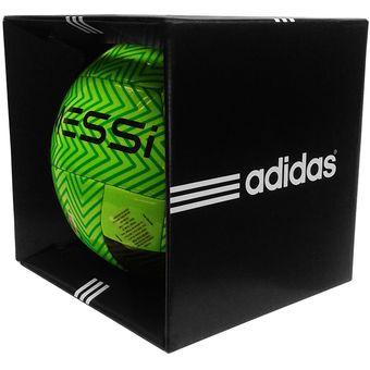 Compra Balón Profesional Adidas  5 Mod. MESSI Q3 - Verde   Negro ... 958e256325db9
