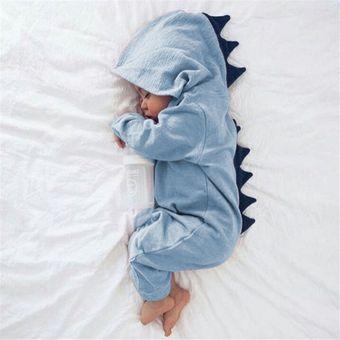 diseñador de moda 5952b 5b44c Mono Ropa De Bebé Recién Nacido Con Capucha 60cm-Azul