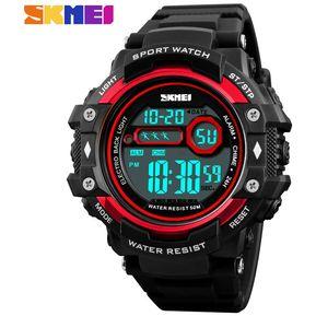 3d50b86a9bfa SKMEI Reloj Deportivo Para Hombre Reloj Digital Electronico Rojo