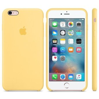 6368ab3c16f Compra Case de Silicona Para Iphone 7/8 - Color Amarillo online ...