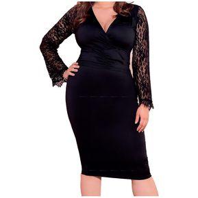 5c6d33b821 Vestido Adulto Marketing Personal Para Mujer Negro
