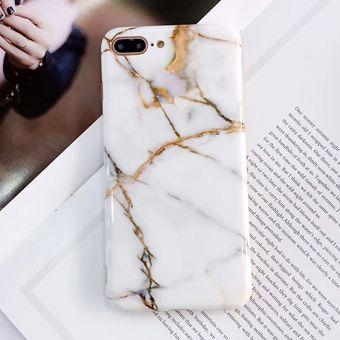 Funda iPhone 8 Plus / 7 Plus Case de Plastico tipo Marmol Linio