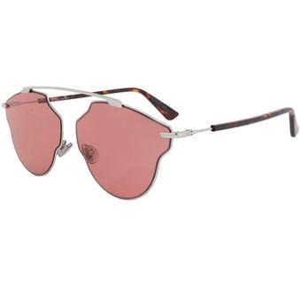3e9911e447451 Compra Lentes De Sol Dior So Real Pop 010U1 -Plateado Lente Rosa ...