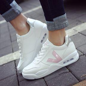 0f78ab0d58a7d Envío gratis. Zapatos Tenis Zapatillas Mujer De Deportes Hinchable De Ocio  -Rosa