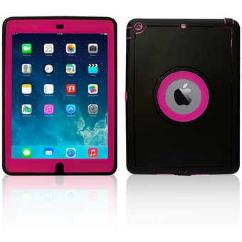 a77b1fe66 Compra Funda Jyx Accesorios IPad Mini 4 Smart Cover Uso Rudo - Rosa ...
