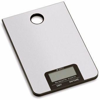 Balanza Digital De Cocina Aspen EKS8039-Plateado