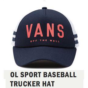 Gorra Vans Original Vans Ol Sport Baseball Trucker Hat 75a15583c32