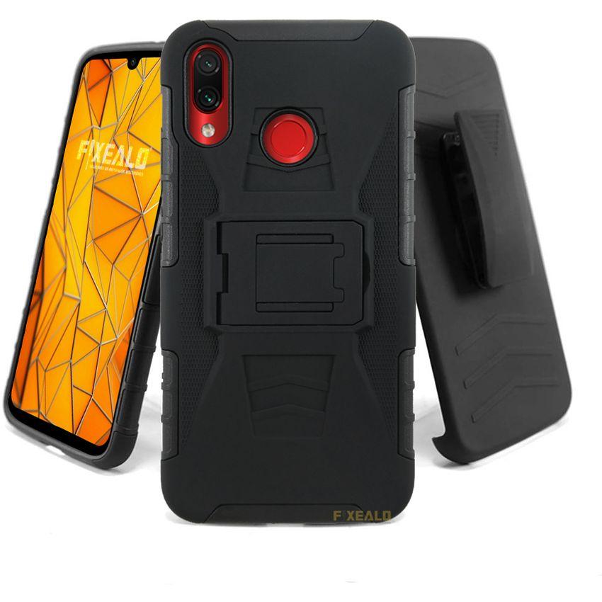 Productos estilo novedoso código promocional Funda Xiaomi Redmi Note 7 Uso Rudo Protector clip Case | Linio ...