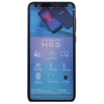 Smartphone Hyundai Eternity H65 5.5, HD, lector de huella digital-Azul