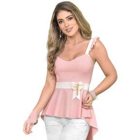 e65d80d3011 Blusa Cola De Pato Sin Manga Outfit 2396 Para Mujer Palo De Rosa