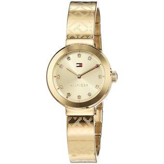 be3e5d986f58 Compra Reloj Tommy Hilfiger 1781720 Dorado online