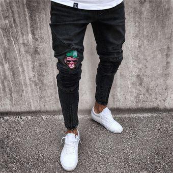 Pantalones Pitillo De Jeans Para Hombre Negro Linio Chile Ge657fa1abrxilacl