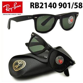 393e7b5609 Compra Lentes De Sol Ray Ban Wayfarer RB2140 901/58 Polarizado 50mm ...