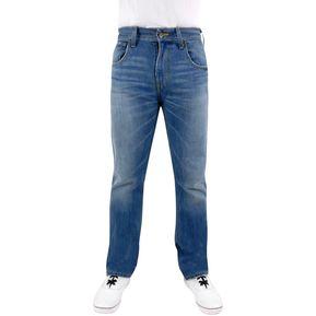 Pantalon De Mezclilla Breton Jeans Para Caballero Slim Fit - Azul