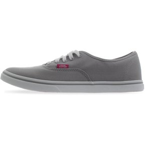 Tenis Vans Authentic Lo Pro - 04MMJQA - Gris - Mujer 17b7acbf13b