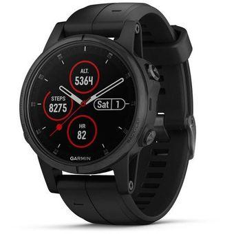 Reloj GPS Garmin Fenix 5s Plus Zafiro (Music)