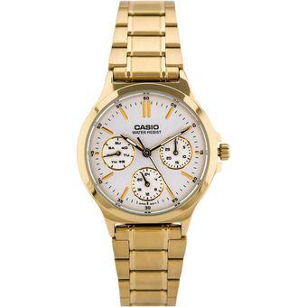 d1a5d3bf2da4 Compra Reloj Casio Mujer LTP V300G 7A - Acero Inoxidable online ...