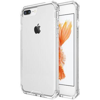 ea49b128ff9 para iPhone 7 Plus shockproof acrilico + TPU transparente estuche protector  de armadura (transparente)