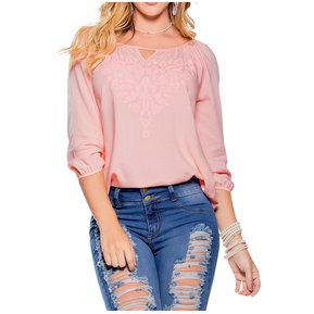 b81476d4f Blusa Adulto Marketing Personal Para Mujer Rosa