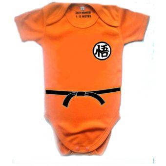 bacf25ec6d3d Ropa Para Bebe Body Bodie Goku Comic Baby Monster