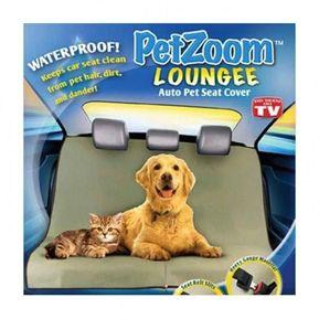 e6ec9594356f Protector Pet Zoom Forro Asientos Carro Auto Mascota Perro