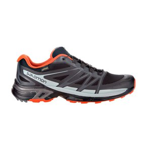 60b86a880ba Tenis Hombre Salomon Trail Running Wings Pro 2 GTX Negro