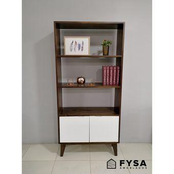 Mueble Estante - Sala Comedor FYSA Amoblados - TONO CHOCOLATE
