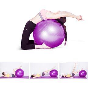 Megimperu - Pelota Pilates Terapeutica Gymball + Inflador e214d49a4fe0
