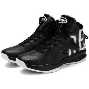 check out eb1f4 900eb EH Zapatos De Baloncesto Amortiguar Los Choques - Blanco Y Negro