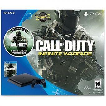 Consola PlayStation 4 Ps4 500Gb Slim + Call Of Duty Infinite Warfare