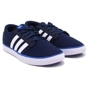 zapatillas adidas hombre azules