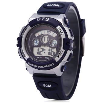 b6c3e78b47b0 OTS 833 Niños Multifunción LED Reloj Digital Resistencia Al Agua Reloj  Deportivo Para Niña  6